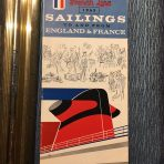 French Line: SS France Rates and Sailings 1963