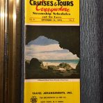 Cruise and Tours Everywhere Steamship Schedules September 15 1974