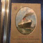 French Line: SS Rochambeau Cabin Passenger List 1923