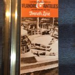 French Line: SS Antilles & Flandre Sisters of the Caribbean Cruises Folder