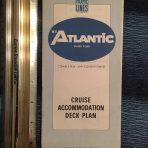 Home Lines: MV Atlantic Blue deck plans 10/84