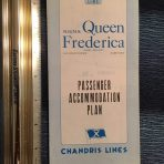 National Hellenic American Line: Queen Frederica blue deck plans