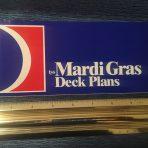Carnival: Mardi Gras Deck Plans