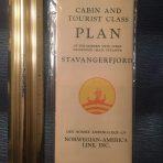 NAL: SS Stavangerfjord Cabin and Tourist Deck Plan