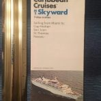 NCL: MS Skyward Caribbean Cruises 1973 Folder DP