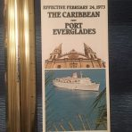 Sitmar: 1973 Caribbean from Port Everglades Flyer