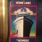 Home Lines: Homeric Baggage Tag