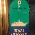 Royal Cruise Line: Royal Odyssey Baggage Tag