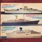 Costa Line: Choose Italian, Choose Costa 3 ship brochure 77/78