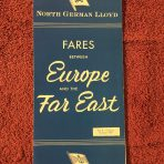 NGL and HAPAG: Fares Between Europe and the Far East 1959