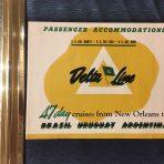 Delta Line: DEl Norte, Sud and Mar Deck Plan Brochure
