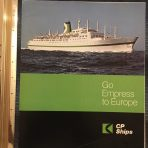 Canadian Pacific:  Go Empress to Europe Green 1969