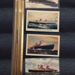 United States Lines: 4 SSUS postcards
