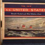 United States Lines: SSUS Interiors Brochure