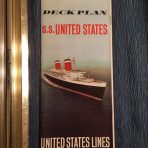 United States Lines: SS United States, The Ultimate Deck Plan