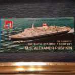 The Baltic Shipping Company: SS Alexander Pushkin Deck plan