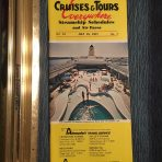 Cruises and Tours Everywhere folder for July 15th 1977