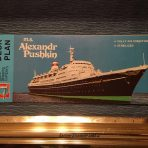 The Baltic Shipping Company: SS Alexandr Pushkin Deck plan