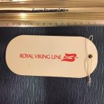 Royal Viking Line: Baggage Tag