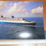 NCL: Large postcard for the Norway