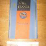 The French Line: SS France Interior brochure