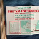 United States Lines: SSUS 69/70 Xmas-NY Cruise simple flyer