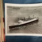 United States Lines:  SS Washington 8×10 Maiden arrival