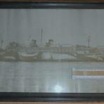 Ward Line: USS Siboney WW1 portrait