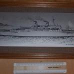 American Export / Orient Overseas lines: Oceanic Independence plaque