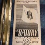 Gydina America Line: SS Batory Plans