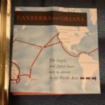 P&O Orient : Canberra -Oriana Announcement Preliminary Cutaway Announcement