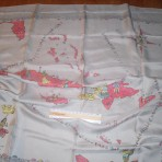 Home Lines: Souvenir scarf Italia/ Homeric/Queen Frederica.