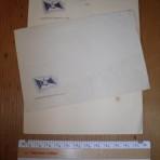 HAPAG: Onboard Letterhead and Envelpoe