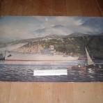 Alcoa Steamship Company. Alcoa Clipper Agency print.