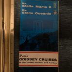 Sun Line: 7 Day Odissey Cruises 1967