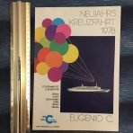 Costa Line: 1978 Eugenio C New Year's Eve Cruise Brochure in German