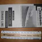 Cunard Line: QE Deckplan 1964 CC