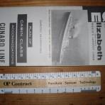 Cunard Line: QE Deckplan 1960 CC