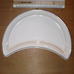 Cunard line: Maddock China crescent dish: Restocked!