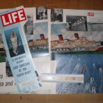 Cunard Line: Queen Mary Life Magazine article.