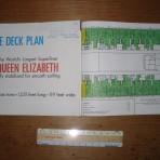 Cunard Line: QE Cruise Plan