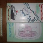 Saxonia First Class Deck Plan