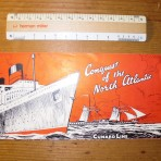 Cunard Conquest Fleet History Booklet: Restocked