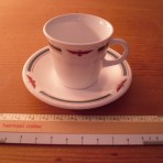 American President Lines: Demitasse cup and saucer restocked