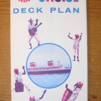 United States Lines: SS United States Miniture Cruise Plan restocked !