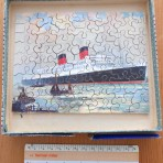 Cunard line: Mauretania 2 Chad Valley Puzzle