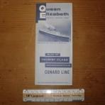 Cunard Line: QE 1960 TC deckplan