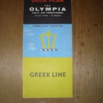 Greek Line: Olympia Deckplan from 1962: