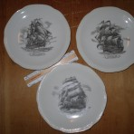 Home Lines: Historic ship souvenir plates
