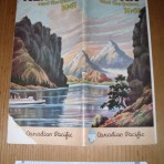 Canadian Pacific: Yukon Travel 1941 for Princesses' Charlotte, Louise and Alice.